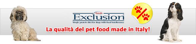Cibo dietetico per cani Exclusion