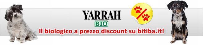 Alimenti umidi biologici per cani Yarrah Bio