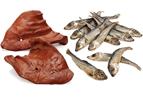 Naturgodis av kött och fisk