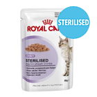 Sterilised Wet Cat Food